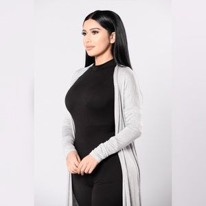 Sophomore Girl Sweater - Heather Grey